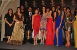 Zarine Khan, Rocky, Jackky, Shriya Saran, Giselle, Neeta Lulla, Amisha Patel, Preeti Desai, Malaika, Neha, Perizaad, Lisa at Blenders Pride fashion tour announcement in Tote, Mumbai on 20th July 2011 (11).JPG