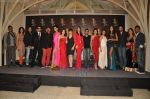 Zarine Khan, Rocky, Jackky, Shriya Saran, Giselle, Neeta Lulla, Amisha Patel, Preeti Desai, Malaika, Neha, Perizaad, Lisa at Blenders Pride fashion tour announcement in Tote, Mumbai on 20th July 2011 (18).JPG