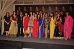 Zarine Khan, Rocky, Jackky, Shriya Saran, Giselle, Neeta Lulla, Amisha Patel, Preeti Desai, Malaika, Neha, Perizaad, Lisa at Blenders Pride fashion tour announcement in Tote, Mumbai on 20th July 2011 (9).JPG