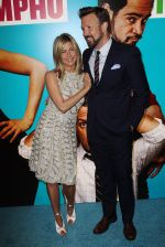 Jennifer Aniston, Jason Sudeikis attend the UK premiere of the movie Horrible Bosses at BFI Southbank on 20th July 2011 (71).jpg