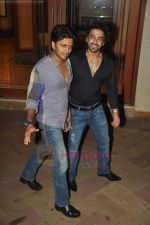 Ritesh Deshmukh, Aashish Chaudhary at Manyata Dutt_s birthday bash in Mumbai on 21st July 2011 (107).JPG