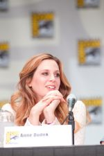 Anne Dudek attends the 2011 Comic-Con International San Diego - Day 1 - Covert Affairs Panel on July 21, 2011 (3).jpg