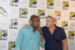 Dule Hill, Corbin Bernsen attends the 2011 Comic-Con International San Diego - Day 1 - Psych Photocall on July 27, 2011 (2).jpg