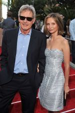 Harrison Ford and Calista Flockhart arrives at the world premiere of the movie Cowboys and Aliens at San Diego Civic Theatre on July 23, 2011 in San Diego, California.jpg