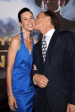Hayley DuMond and Keith Carradine arrives at the world premiere of the movie Cowboys and Aliens at San Diego Civic Theatre on July 23, 2011 in San Diego, California.jpg