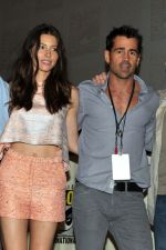 Jessica Biel, Colin Farrell attends the 2011 Comic-Con International San Diego - Day 2 on July 28, 2011 (6).jpg