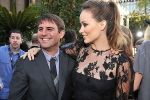 Roberto Orci and Olivia Wilde arrives at the world premiere of the movie Cowboys and Aliens at San Diego Civic Theatre on July 23, 2011 in San Diego, California.jpg