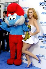 Katy Perry attends the world premiere of the movie The Smurfs at the Ziegfeld Theatre on 24th July 2011 in New York City, NY, USA (11).jpg