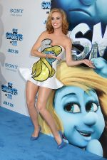 Katy Perry attends the world premiere of the movie The Smurfs at the Ziegfeld Theatre on 24th July 2011 in New York City, NY, USA (19).jpg