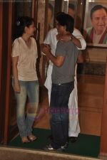 Manyata Dutt, Sanjay Dutt, Shahrukh Khan at Sanjay Dutt_s Party at his house on 24th July 2011 (94).JPG
