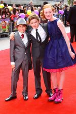 Ross Marron, Theo Stevenson and Scarlett Stitt attends the world premiere of the movie Horrid Henry at the BFI Southbank on 24th July 2011 in London, UK (2).jpg