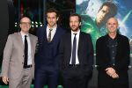 Donald De Line, Ryan Reynolds, Peter Sarsgaard, Martin Campbell attends the Berlin Premiere of the movie Green Lantern on 25th July 2011 in Berlin, Germany.jpg