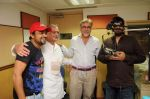 Gulzar, Sajid, Wajid at the Audio release of Chala Mussaddi - Office Office in Radiocity Office on 25th July 2011 (31).JPG