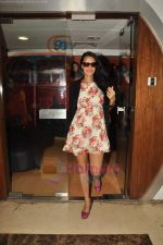 Neha Dhupia at Radiocity to promote film Gandhi to Hitler in Bndra, Mumbai on 28th July 2011 (19).JPG