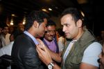 Vihang sarnaik with pratap sarnaik and Rohit Roy, at Pratap Sarnaik birthday party in Mumbai on 28th July 2011.JPG