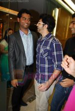 vaditya thackeray and  vihang sarnaik at Pratap Sarnaik birthday party in Mumbai on 28th July 2011.JPG