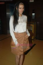 Neha Dhupia at Gandhi to Hitler premiere in Cinemax on 28th July 2011 (26).JPG