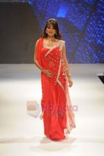 Aashka Goradia walks the ramp for Beti Gitanjali Show at IIJW 2011 in Grand Hyatt on 31st July 2011 (176).JPG