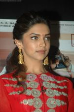 Deepika Padukone spotted on the sets of Kaun Banega Crorepati 5 in Film City on 31st July 2011 (48).JPG