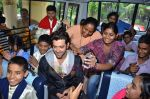 Hrithik Roshan donates bus to Dilkush school in Juhu, Mumbai on 1st Aug 2011 (53).JPG