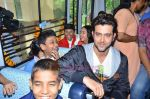 Hrithik Roshan donates bus to Dilkush school in Juhu, Mumbai on 1st Aug 2011 (56).JPG