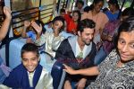 Hrithik Roshan donates bus to Dilkush school in Juhu, Mumbai on 1st Aug 2011 (58).JPG