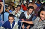 Hrithik Roshan donates bus to Dilkush school in Juhu, Mumbai on 1st Aug 2011 (59).JPG
