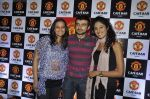 Jasveer Kaur, Shraddha Musale at Manchester United Cafe launch in Malad on 31st July 2011 (63).JPG