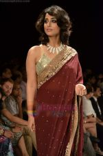 Mahie Gill walks the ramp for Beti Gitanjali Show at IIJW 2011 in Grand Hyatt on 31st July 2011 (179).JPG