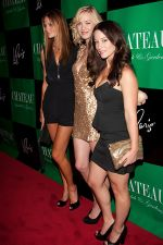 Mini Anden, Yvonne Strahovski and Mekenna Melvin at Yvonne Strahovski_s 29th birthday bash at Gallery Nightclub at the Paris Las Vegas Hotel and Casino in Las Vegas, USA on July 30, 2011 (3).jpg