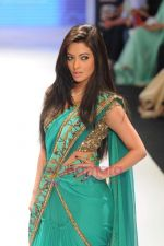 Riya Sen walks the ramp for Beti Gitanjali Show at IIJW 2011 in Grand Hyatt on 31st July 2011 (171).JPG