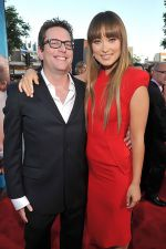 David Dobkin and Olivia Wilde attends the LA premiere of the movie The Change-Up at the  Regency Village Theatre in Westwood, CA, USA on 1st August 2011.jpg