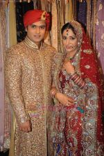 Deepika Samson, Shoaib Ibrahim on the sets of Sasural Simar Ka on 1st Aug 2011 (32).JPG