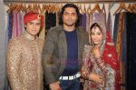 Deepika Samson, Shoaib Ibrahim, Riyaz Ganji on the sets of Sasural Simar Ka on 1st Aug 2011 (35).JPG