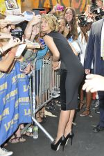 Diana Agron attending the Late Show with David Letterman at the The Ed Sullivan Theater, New York City, NY, USA on August 1, 2011 (1).jpg
