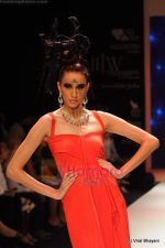 Model walks the ramp for Johara by Divya Ahuja show at IIJW 2011 Day 2 in Grand Hyatt on 1st Aug 2011 (106).JPG
