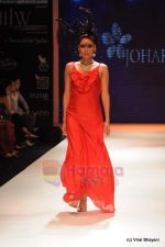 Model walks the ramp for Johara by Divya Ahuja show at IIJW 2011 Day 2 in Grand Hyatt on 1st Aug 2011 (111).JPG
