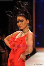 Model walks the ramp for Johara by Divya Ahuja show at IIJW 2011 Day 2 in Grand Hyatt on 1st Aug 2011 (113).JPG
