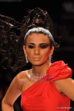 Model walks the ramp for Johara by Divya Ahuja show at IIJW 2011 Day 2 in Grand Hyatt on 1st Aug 2011 (115).JPG