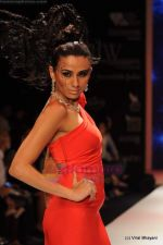 Model walks the ramp for Johara by Divya Ahuja show at IIJW 2011 Day 2 in Grand Hyatt on 1st Aug 2011 (116).JPG