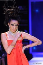 Model walks the ramp for Johara by Divya Ahuja show at IIJW 2011 Day 2 in Grand Hyatt on 1st Aug 2011 (72).JPG