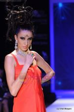 Model walks the ramp for Johara by Divya Ahuja show at IIJW 2011 Day 2 in Grand Hyatt on 1st Aug 2011 (73).JPG