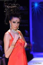 Model walks the ramp for Johara by Divya Ahuja show at IIJW 2011 Day 2 in Grand Hyatt on 1st Aug 2011 (74).JPG