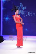 Model walks the ramp for Johara by Divya Ahuja show at IIJW 2011 Day 2 in Grand Hyatt on 1st Aug 2011 (75).JPG