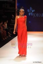 Model walks the ramp for Johara by Divya Ahuja show at IIJW 2011 Day 2 in Grand Hyatt on 1st Aug 2011 (94).JPG