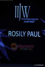 Model walks the ramp for Rosily Paul show at IIJW 2011 Day 2 in Grand Hyatt on 1st Aug 2011 (2).JPG