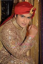 Shoaib Ibrahim on the sets of Sasural Simar Ka on 1st Aug 2011 (29).JPG