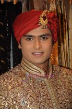 Shoaib Ibrahim on the sets of Sasural Simar Ka on 1st Aug 2011 (35).JPG