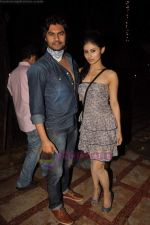 Gaurav Chopra, Mouni Roy at producer Sunil Bohra_s party in Kino_s Cottage on 2nd Aug 2011 (12).JPG
