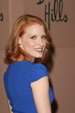 Jessica Chastain attends the 2011 Hollywood Foreign Press Association Annual Installation Luncheon in Beverly Hills Hotel, CA on 4th August 2011 (7).jpg